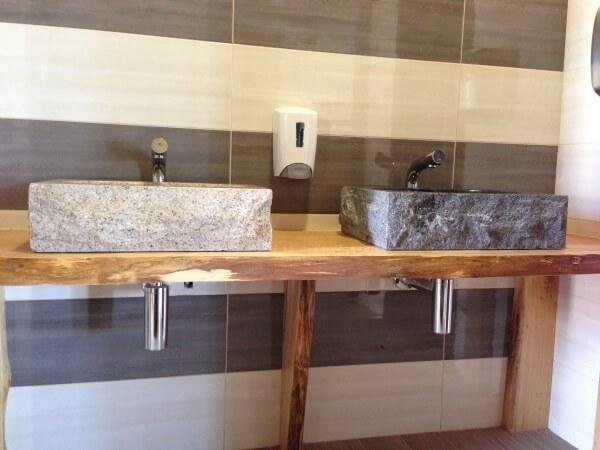Lavabo in pietra anche per interni - EuroPietre Cuneo