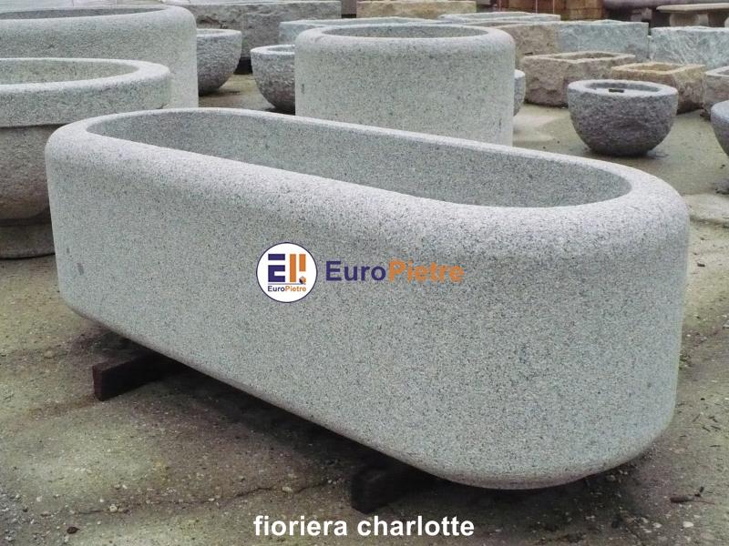 Fioriere in pietra europietre cuneo - Fioriere da esterno in pietra ...