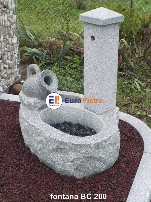 Fontane in pietra europietre cuneo - Accessori per fontane da giardino ...