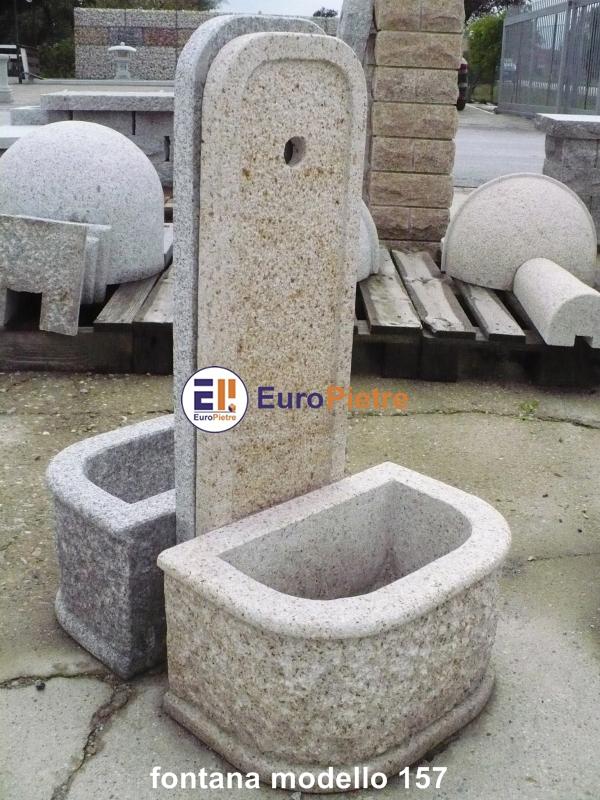 Fontane da giardino in pietra la scelta giusta variata - Vasche in pietra da giardino ...