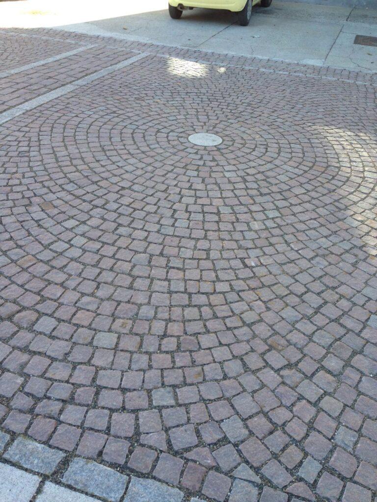 pavimentazione in cubetti europietre