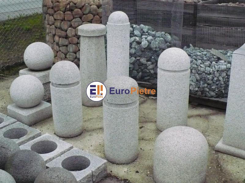 Dissuasori in pietra europietre cuneo for Arredo urbano dissuasori