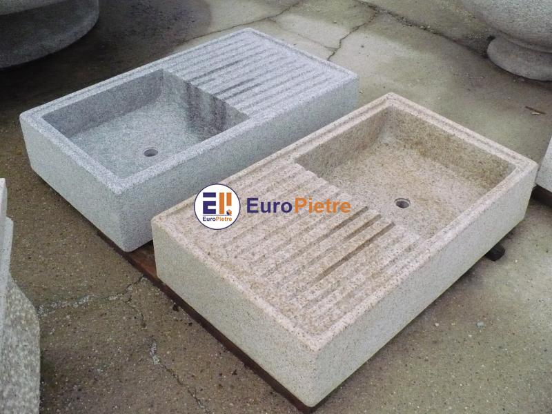 Lavandini in pietra europietre cuneo for Lavandino da esterno ikea